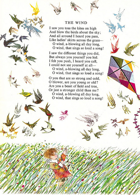 The Wind by Robert Louis Stevenson