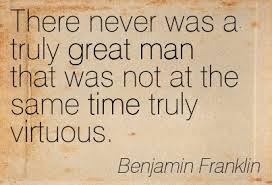 ben franklin virtue